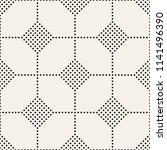 vector seamless pattern. modern ... | Shutterstock .eps vector #1141496390