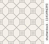 vector seamless pattern. modern ... | Shutterstock .eps vector #1141496393