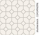 vector seamless pattern. modern ... | Shutterstock .eps vector #1141496396