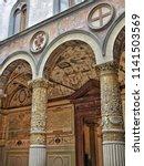 italian art. medieval... | Shutterstock . vector #1141503569
