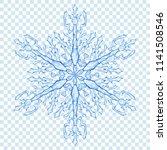 big translucent christmas... | Shutterstock .eps vector #1141508546