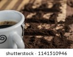 coffee on the table | Shutterstock . vector #1141510946