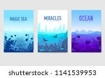 dedicated to undersea vector... | Shutterstock .eps vector #1141539953