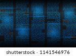 binary background. abstract... | Shutterstock .eps vector #1141546976