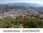 panoramic view of the historic... | Shutterstock . vector #1141564193