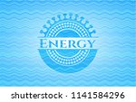energy sky blue water wave... | Shutterstock .eps vector #1141584296