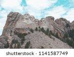 image of beautiful mount... | Shutterstock . vector #1141587749