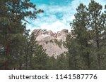 image of beautiful mount... | Shutterstock . vector #1141587776