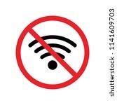 no wifi icon vector. no wifi...