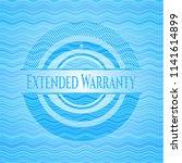 extended warranty light blue... | Shutterstock .eps vector #1141614899