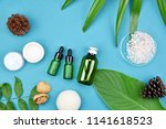cosmetic skin care bottle... | Shutterstock . vector #1141618523