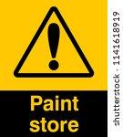 dangrous corrosive substance...   Shutterstock .eps vector #1141618919
