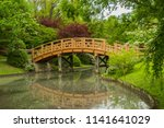Japanese Garden Bridge And...