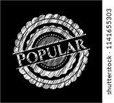 popular on chalkboard | Shutterstock .eps vector #1141655303