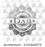 dab grey emblem. vintage with... | Shutterstock .eps vector #1141666073