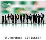 business people | Shutterstock .eps vector #114166684
