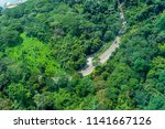 high angle view of the road... | Shutterstock . vector #1141667126