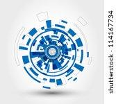 technical element. technical... | Shutterstock .eps vector #114167734