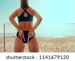 Girls Playing Volleyball Beach - Fine Art prints