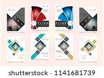 cover design template for...   Shutterstock .eps vector #1141681739