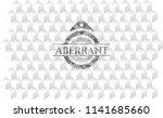 aberrant grey emblem. vintage...   Shutterstock .eps vector #1141685660