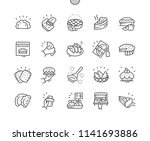 pies and pasties well crafted... | Shutterstock .eps vector #1141693886
