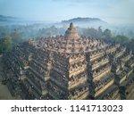 borobudur buddhist temple  | Shutterstock . vector #1141713023