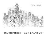 city skyline vector... | Shutterstock .eps vector #1141714529