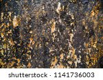 abstract rusty metal texture ... | Shutterstock . vector #1141736003
