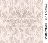 floral seamless pattern.... | Shutterstock .eps vector #1141736069