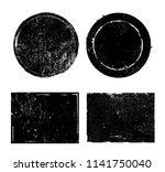 vector grunge stamps.distress... | Shutterstock .eps vector #1141750040