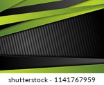tech black background with... | Shutterstock .eps vector #1141767959