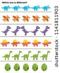 educational game for preschool... | Shutterstock .eps vector #1141811903
