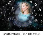 numerology and life | Shutterstock . vector #1141816910