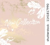autumn collection trendy chic... | Shutterstock .eps vector #1141817990