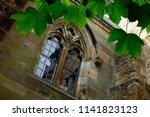 gothic window of the culross... | Shutterstock . vector #1141823123