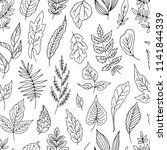 simple seamless vector pattern... | Shutterstock .eps vector #1141844339