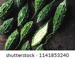 wild bitter gourd  bitter... | Shutterstock . vector #1141853240