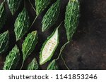 wild bitter gourd  bitter... | Shutterstock . vector #1141853246