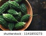 wild bitter gourd  bitter... | Shutterstock . vector #1141853273