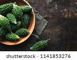 wild bitter gourd  bitter... | Shutterstock . vector #1141853276