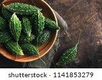 wild bitter gourd  bitter... | Shutterstock . vector #1141853279