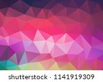 vector background from polygons ... | Shutterstock .eps vector #1141919309