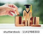 back to school concept  people... | Shutterstock . vector #1141988303