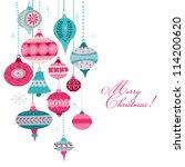 Vintage Christmas Background  ...
