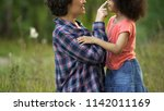 young mother and cute little... | Shutterstock . vector #1142011169