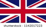 united kingdom uk england... | Shutterstock .eps vector #1142017223