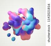 3d illustration  modern...   Shutterstock . vector #1142021816