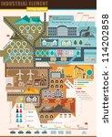 infographics industrial element ... | Shutterstock .eps vector #114202858