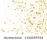 gold yellow on white shiny... | Shutterstock .eps vector #1142059556